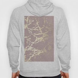 Kintsugi Ceramic Gold on Clay Pink Hoody