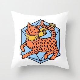 Frumpkin Throw Pillow