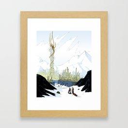 Eldritch Princesses: Rapunzel Framed Art Print