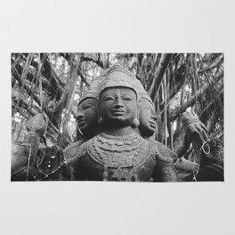 Shiva Statue - Kauai, Hawaii Rug