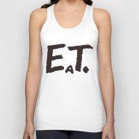 eat Tank Tops featuring EAT by Masahisa  Saito