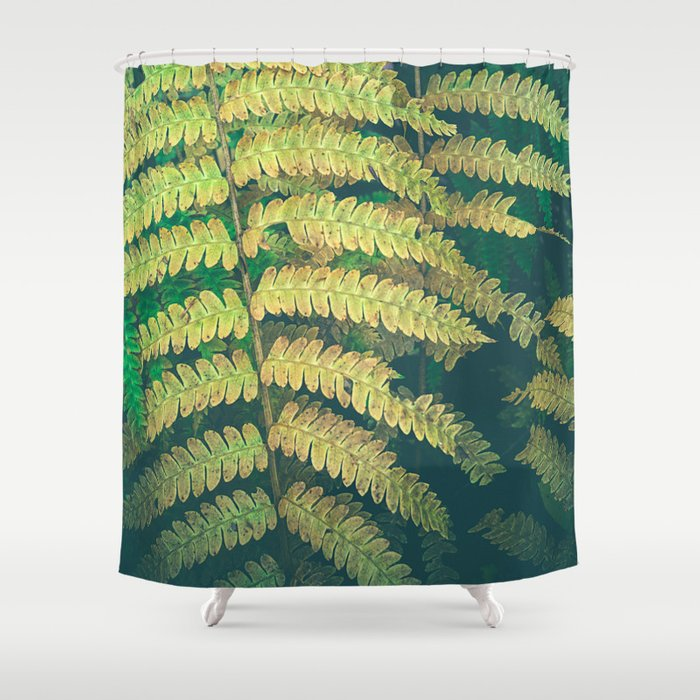 Woodland Fern Shower Curtain