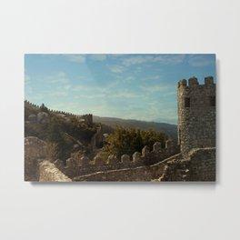 Moorish Castle at Sintra, 1 Metal Print
