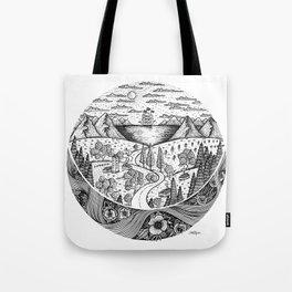Eternal Landscape Tote Bag
