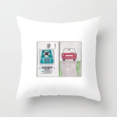 Roadtrip to Austria Throw Pillow