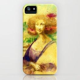 The Gioconda Mashup iPhone Case