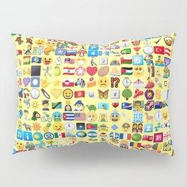 Emoji Madness Pillow Sham