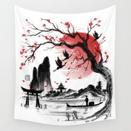 Japan dream Wall Tapestry