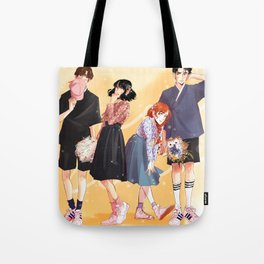 Honey Lemon - Hanbok Fashion Tote Bag