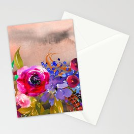 Flowers Bouquet 87 Stationery Cards
