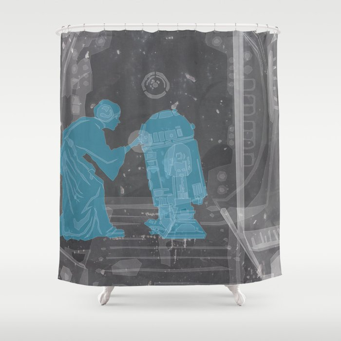 My Only Hope Shower Curtain