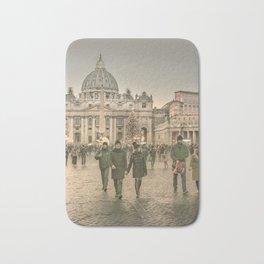 Conciliazione Street, Rome, Italy Bath Mat