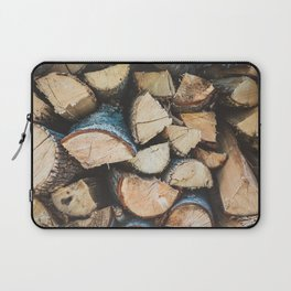 Wood / Photography Print / Photography / Color Photography Laptop Sleeve