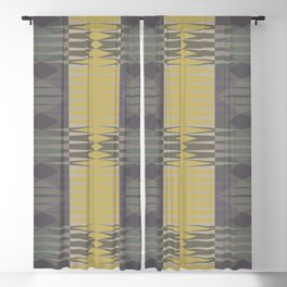 Papercuts XII Blackout Curtain
