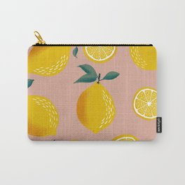 Pink Zest Carry-All Pouch