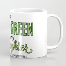 I Wear Lyme Green for my Daughter Coffee Mug