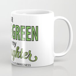 I Wear Lyme Green for my Daughter Coffee Mug
