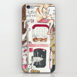 Paitently Waiting for Pants iPhone Skin