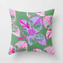 Flowers 605 Throw Pillow