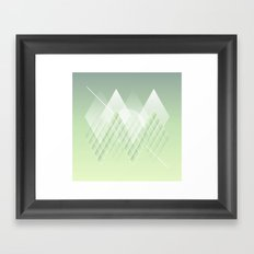 Escamas Framed Art Print