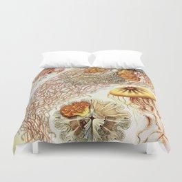 SEA CREATURES COLLAGE-Ernst Haeckel Duvet Cover