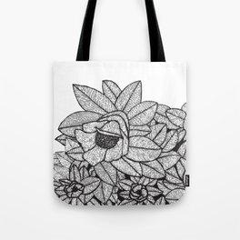 Floral Meditation 2 Tote Bag