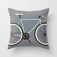 Classic Road Bike Throw Pillow