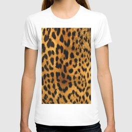 Trendy girly pattern wild safari animal Leopard Print T-shirt
