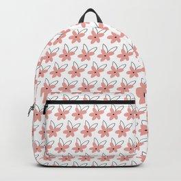 Pink Single Flower Backpack