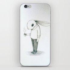 coffee bunny iPhone & iPod Skin
