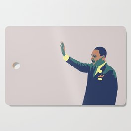Martin Luther King Cutting Board