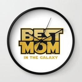 Star War Mom Wall Clock