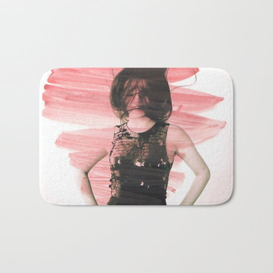 Young girl 2 Bath Mat