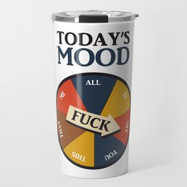 Today's Mood Travel Mug
