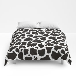 Cow pattern background Comforters