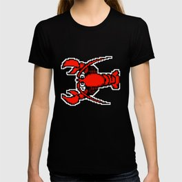 8-Bit Retro Pixel Art Lobster T-shirt