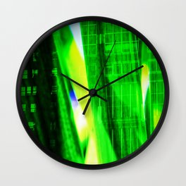 Abstract Perfection 37    City Jungle Wall Clock