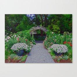 Blithewold Garden Arch Canvas Print