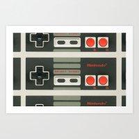 nintendo Art Prints featuring Nintendo  by Cloz000