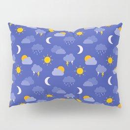 Weather Forecast Pillow Sham