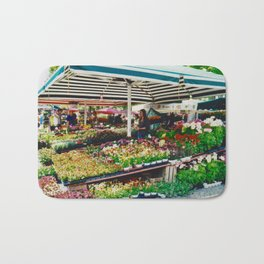 Flower shop in Munich #2 Bath Mat