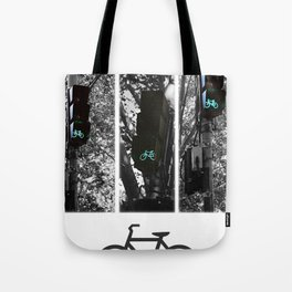 cycle to the city Tote Bag