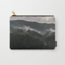 Foggy morning it Serbian mountains Carry-All Pouch