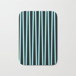 Between the Trees Black, Blue & Green #312 Bath Mat