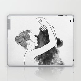 Lonely days of galaxy. Laptop & iPad Skin