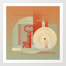 This melancholy key #everyweek 48.2016 Art Print