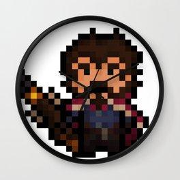 Graves, The Pixel Gunslinger Wall Clock