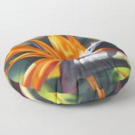 Bird of Paradise 20 Floor Pillow