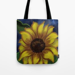 Dramatic Sunflower DP141118a Tote Bag