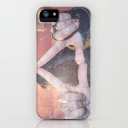 hipster triangel iPhone Case